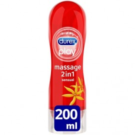 DUREX PLAY MASSAGE 2 EN 1 SENSUAL 200ML