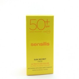 SENSILIS SUN SECRET ULTRA FLUIDO COLOR SPF 50+ 40ML