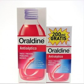 ORALDINE ANTISEPTICO PACK 400ML+200ML