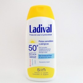 LADIVAL GEL-CREMA OIL FREE SPF 50+ 200ML.