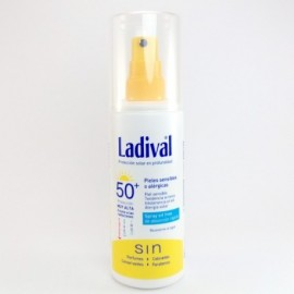 LADIVAL SPRAY OIL FREE SPF 50+ 150ML.