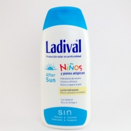 LADIVAL NIÑOS AFTER SUN LECHE HIDRATANTE 200ML.