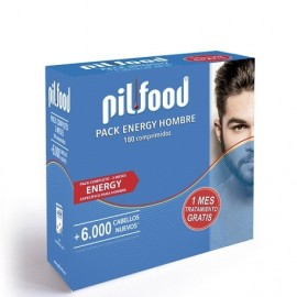 PILFOOD PACK ENERGY HOMBRE 180 COMPRIMIDOS