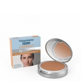 ISDIN FOTOPROTECTOR COMPACT SPF 50+ BRONCE 10G.
