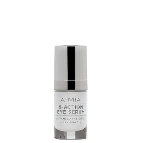 APIVITA 5-ACTION SERUM CONTORNO OJOS 15 ML.