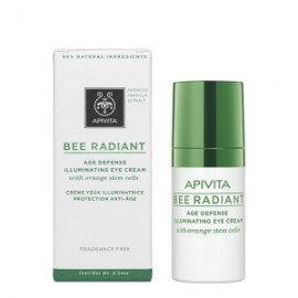 APIVITA BEE RADIANT CONTORNO OJOS DEFENSA ANTIEDAD 15 ML.