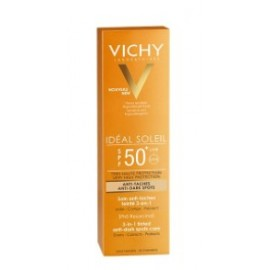 VICHY IDEAL SOLEIL ANTI-EDAD 3 EN 1 SPF 50+ 50ML