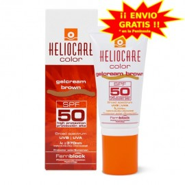 HELIOCARE GELCREAM SPF 50 COLOR BROWN 50ML