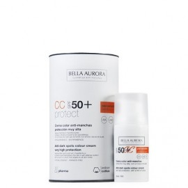 CREMA COLOR ANTI-MANCHAS SPF50+ PIEL SENSIBLE 30ML.
