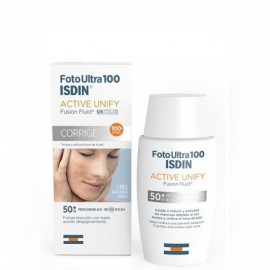 ISDIN FOTOPROTECTOR FOTOULTRA 100 ACTIVE UNIFY FUSION FLUID SPF 100+ 50ML.