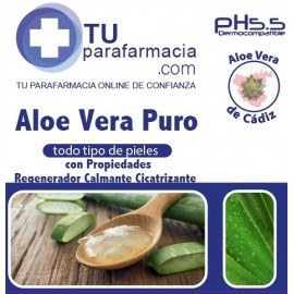 GEL ALOE VERA FARMAZAHARA 500ML.