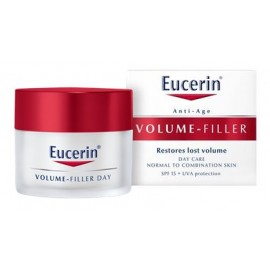 EUCERIN VOLUME-FILLER CREMA DIA PIEL NORMAL MIXTA 50ML.