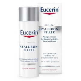 EUCERIN HYALURON-FILLER CREMA DIA PIEL NORMAL MIXTA 50ML.