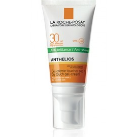 ANTHELIOS SPF 30 GEL-CREMA TOQUE SECO ANTI-BRILLOS SIN PERFUME 50ML.