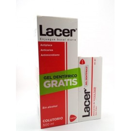 LACER COLUTORIO DENTAL ANTICARIES 500ML.
