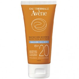 AVENE SOLAR EMULSION SPF-20 OIL FREE 50ML.